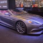 ������, ������: Aston Martin Q Vanquish Convertible on display