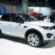 Постер, плакат: Land Rover Discovery 2015 on display