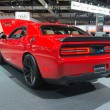Постер, плакат: Dodge Challenger SRT on display