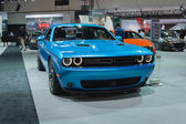 Dodge Challenger 2015 on dlisplay — Stock Photo