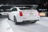 Cadillac ATS Coupe car on display — Fotografia Stock