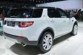 Land Rover Discovery 2015 on display — Stock Photo
