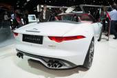 Jaguar F-Type convetible 2016 on display — Stockfoto