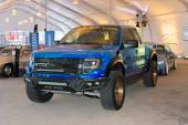 Ford F-150 SVT Raptor on dlisplay — Stock Photo