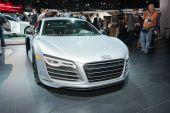 Audi R8 2015 on display — Стоковое фото