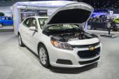 Chevrolet Malibu LT 2015 on display — Stock Photo