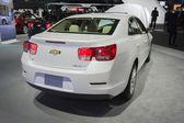 Chevrolet Malibu LT 2015 on display — Stockfoto