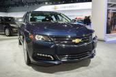 Chevrolet Impala LTZ 2015 on display — Stock Photo