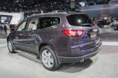 Chevrolet Traverse 2015 on display — Stockfoto