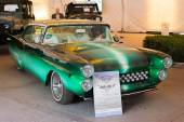 Ford Fairlane 1957 on display — Foto Stock