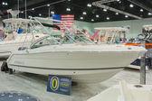 Robalo boat on display — Stock Photo