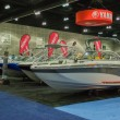 Постер, плакат: Yamaha boats on display