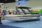 Wakesetter boat on display — Photo