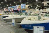 Boats on display — Stock Photo