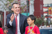 Eric Garcetti, Los Angeles Mayor — Stock Photo