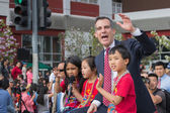 Eric Garcetti, Los Angeles Mayor — Stock Photo