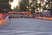 Niezidentyfikowane biegaczy na początku 30 La maraton Editio — Zdjęcie stockowe