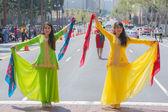 Persian dancers performing — Stock Photo