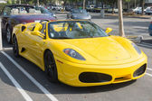 Ferrari F430 Spider Convertible on display — Stock Photo