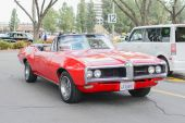 Pontiac Le Mans Convertible classic car on display — Zdjęcie stockowe