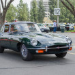 Постер, плакат: Jaguar Classic E type classic car on display