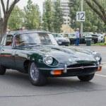 ������, ������: Jaguar Classic E type classic car on display