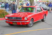 Ford Mustang classic car on display — Foto Stock