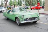 Convertible Cadillac  classic car on display — Stock Photo