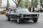 Ford Mustang classic car on display — Stockfoto