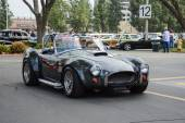 Ford Shelby Cobra classic car on display — Foto Stock