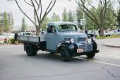 Dodge classic truck on display — Stockfoto