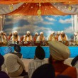 Devotee Sikhs recite prayers — Stock Photo #70102249