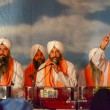 Devotee Sikhs recite prayers — Stock Photo #70102273