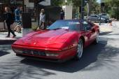 Ferrari Testarossa car on display — Stock Photo
