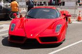 Ferrari Enzo car on display — Stock Photo