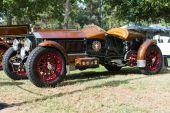 La Bestioni car on display — Stock Photo