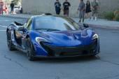 McLaren P1 car on display — Stock Photo
