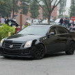 Постер, плакат: Cadillac CTS car on display