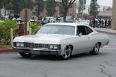 Chevrolet Impala car on display — Stock Photo