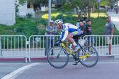 競争のサイクリスト — ストック写真