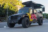 Red Bull truck music station — Stock Photo