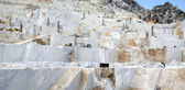 A Carraran marble quarry — Stock Photo