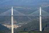 Millau Viaduct — Stock Photo