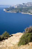 Landscape view of the Calanques National Park — Stock Photo