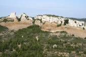 The limestone cliffs of the Calanques national park — Stock Photo