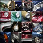 Old timer, collage — Stock Photo
