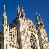 Katedra w mediolanie — Zdjęcie stockowe