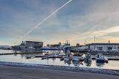 Reykjavik Harbour — Stock Photo