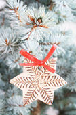 Christmas tree detail — Stockfoto