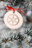 Christmas tree detail — Stock Photo